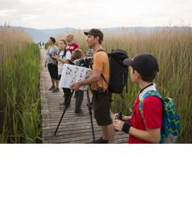 Des guides passionnés feront découvrir au public toute la richesse de la biodiversité. YANN ANDRÉ