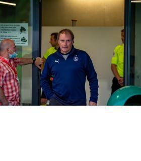 L'entraîneur Alain Geiger entame sa quatrième saison  sur le banc grenat. STéPHANE CHOLLET