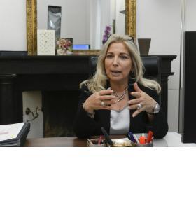La priorité de Nathalie Fontanet est d'assurer la stabilité des finances publiques. CHRISTIAN BONZON