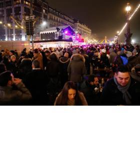 De 21h à 2h du matin, il y aura foule sur les quais.