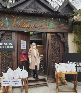 Parmi les beaux gestes de solidarités... un restaurant thaïlandais, à Saint-Jean,