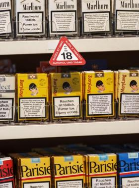La vente de tabac aux moins de 18 ans est sur le point d'être interdite. DR