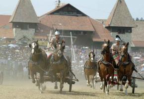 Chars romains sur la plaine de Plainpalais