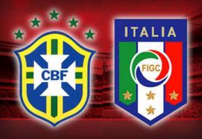 Italie - Brésil au Stade de Genève