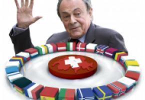 Michel Rocard: «La survie du continent européen exige que l'on ne pense pas qu'à l'argent». DR