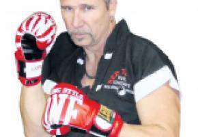 Yanick Pugin,  initiateur de la  Martial Art Thérapie. DR