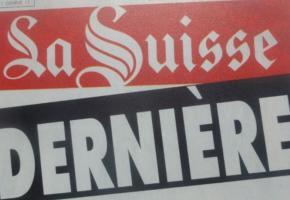 Fanion de la République, « La Suisse » a disparu en 1994. DR