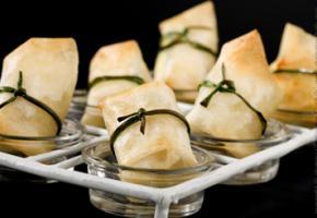 Croustillants de courgettes à la mozzarella