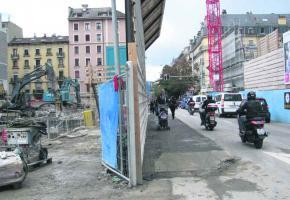Entre la rénovation du Musée d'ethnographie et le chantier de la Radio, les riverains n'en peuvent plus.