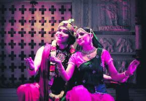 Hari et Chetana maîtrisent l'art de danse kathak.