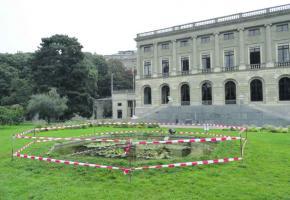 La mare du parc des Bastions posait trop de problèmes sécuriataires à la ville.