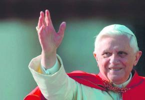 Le pape Benoït XVI.