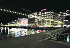 L'illumination de la Rade écologique avait remporté le Watt d'Or au Salon des invention de Genève en 2011.