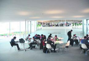 Le Rolex Learning Center de l'EPFL.