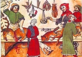 De nombreux ouvrages illustrés témoignent du goût pour le gibier au Moyen Age.