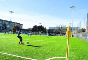 Des joueurs portant un maillot aux couleurs de l'Olympique de Genève fouleront-ils bientôt la pelouse du stade de Varembé?