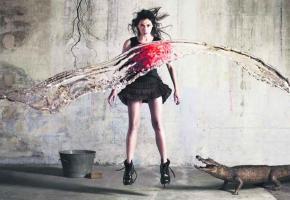 Olivia Ruiz, une artiste aussi provocante qu'attendrissante.