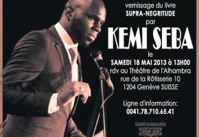 Kémi Seba a fait l'objet d'une nouvelle interdiction d'entrée en Suisse.