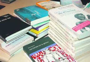 Pas de «dons» de livres cette année au Salon du Livre.
