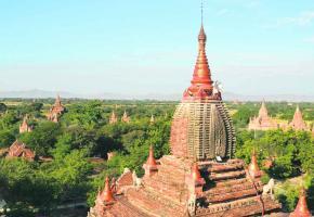 Nul ne se lasse de Bagan, le seul lieu où il n'y a jamais assez de pagodes à visiter.