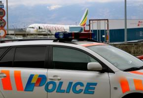 L'aéroport a été fermé lundi matin jusqu'à 8 heures. STéPHANE CHOLLET