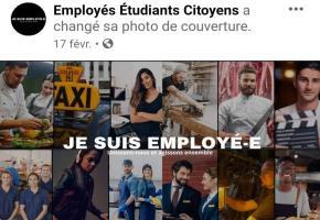 La page Facebook créée par trois employés d'un restaurant. DR