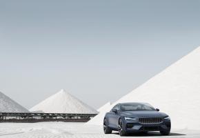 Polestar produira des voitures 100% électriques, comme la Polestar 2, disponible en Suisse. PHOTOS DR