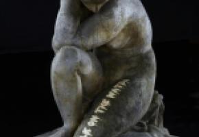 «Recueillement» est une œuvre réalisée par Charles-Albert Angst en 1931. MAH/BETTINA JACOT-DESCOMBES