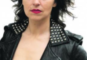 L'actrice Julia Batinova jouera dans la pièce «The Big Bukowski» aux côtés de Lionel Brady et Philippe Mathey. DANIEL CALDERON