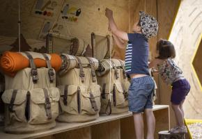 De multiples ateliers sont proposés durant tout l'été. T. VATTARD - LE GRAND BORNAND