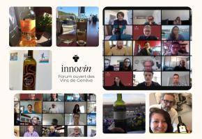 Les vignerons genevois et leurs partenaires imaginent des projets pour l'avenir des vins locaux. DR