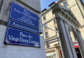 Le Conseil d'Etat se prononcera sur les nouveaux changements de noms de rues. FRANCIS HALLER