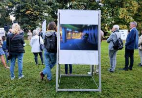 L'exposition est actuellement visible (jusqu'au 4 octobre) à Plan-les-Ouates