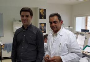 Ghislain Bauffigeau et Carlos Abrantes, deux maîtres de réadaptation enthousiastes aux EPI. DR