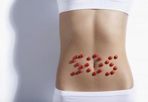 Les probiotiques au secours de votre intestin: un ventre plat et une jolie peau. ISTOCK/DEKLOFENAK