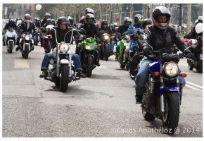 Elles seront des centaines à travers la ville, le 29 mars. JACQUES APOTHéLOZ