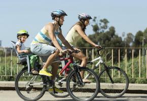 Profiter de la belle saison sur son vélo, en toute sécurité: que du bonheur! ISTOCK/JACKF