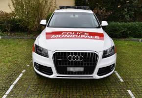 Audi Q5 pour les agents de Cologny (en bas à gauche), SUV BMW pour les CFF, Skoda Octavia pour les APM de la Ville de Genève et la police cantonale. BITZ/ DR