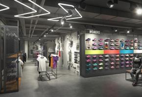 le plus grand Nike Shop de Romandie! DR