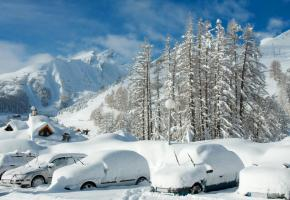 L'hiver ne ménage pas nos véhicules. GETTY IMAGES