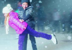 Petits et grands patineurs pourront s'en donner à cœur joie cet hiver. GETTY IMAGES/PILIN PETUNYIA