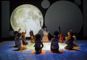 En plus des mélomanes, amateurs de danse, les fêtards et les théâtreux, le jeune public pourra aussi satisfaire sa curiosité, avec «La Maison du panda», par la Cie TPO. TPO