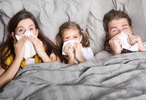 Les enfants sont plus vulnérables que les adultes face aux virus des refroidissements. DR DR