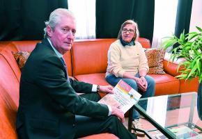 Le candidat au Conseil d'Etat Ronald Zacharias veut faire de la défense des locataires âgés  une des priorités de sa campagne électorale. DR