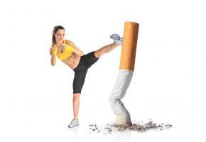 En finir avec  la cigarette. 123RF/LJUPCO