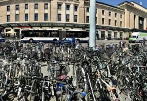 Genève est le deuxième canton suisse en matière de mobilité douce. FRANCIS HALLER