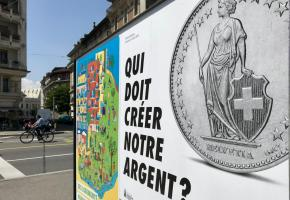 L'initiative «Monnaie pleine» vise à mieux contrôler le système financier suisse. FRANCIS HALLER