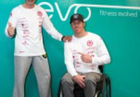 Marc Ristori s'entraîne  en compagnie d'Alexander Niemann et Samy Rolland. ALDO VIOLA