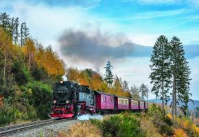 Prendre le temps de se recentrer, c'est la promesse d'un voyage en train. DR