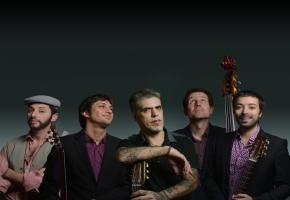 Le jazz manouche du groupe Les Doigts de l'homme fera vibrer Versoix le samedi 3 novembre. DR